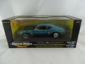1:18 ertl American Muscle #36676 1968 Pontiac Gto Bossmann Arnie Beswick #
