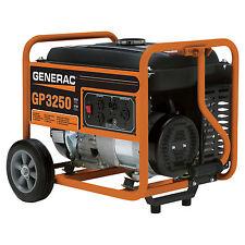 3,250 Watt Portable Generator (49 State/CSA Compliant) Generac GP3250 New