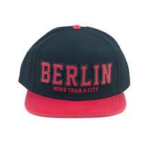 ROBIN RUTH Flatcap Berlin more than a City NEU/OVP Cap Kappe Mütze Rot Schwarz