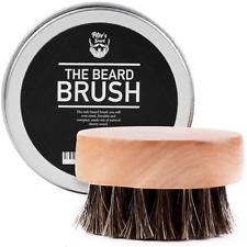 Bartbürste Premium Bürste Bartpflege Bambusholz Pferdehaar 5.5 cm