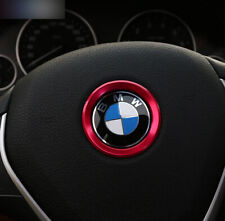 Red Steering Wheel Decoration Ring For BMW 1 3 5 Series X1 X3 X5 X6 AU Stock