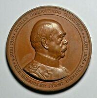 Germany, Otto von Bismarck, 70th birthday commemorative medal 1885
