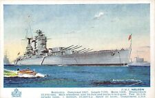 POSTCARD  SHIPS      HMS  NELSON