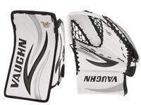 New Vaughn 7190 junior hockey goalie blocker glove catcher ice goaltender reg