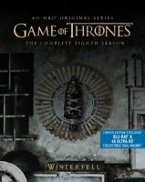 Game of Thrones The Complete Eighth Season Steelbook 4K UHD + Blu-ray