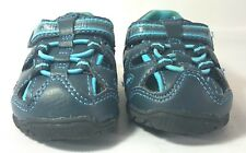 Sesame Street Cookie Monster Baby Shoes Gray/Blue Size 2W Unisex