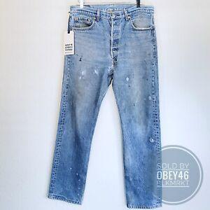 Levi's Authorized Vintage 501 XX USA LVC Distressed Jean's Original 34x31