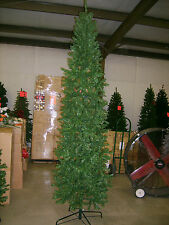 6.5 FOOT PENCIL SLIM PINE GREEN CHRISTMAS TREE BRAND  6.5 ft. tall NEW