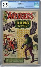Avengers #8 CGC 2.5 1964 3748134002 1st app. Kang the Conqueror