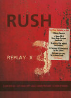 RUSH REPLAY X DELUXE EDITION 3 DVD + CD BOX SET NEW SEALED GRACE UNDER PRESSURE