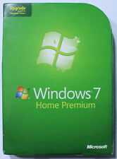Windows 7 Home Premium 32 and 64 Bit UPGRADE Version