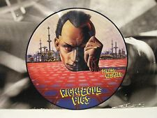 RIGHTEOUS PIGS - STRESS RELATED LP PICTURE NEAR MINT 1990 NUCLEAR BLAST NB 035