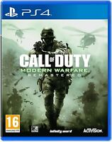 Call of Duty Modern Warfare Remastered PS4 ~ PlayStation 4 ~ Brand New & Sealed