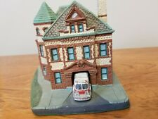 Danbury Mint/Collectable/ Albany Steamer NO. 1 Classic American FireHouses/Stati