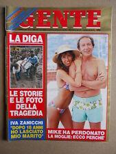 GENTE n°31 1985 Tragedia Val di Fiemme - Madonna Mike Bongiorno Zuccoli  [D54]
