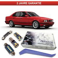 BMW E34 Premium LED Innenraumbeleuchtung 13 SMD Set weiß Canbus 5er