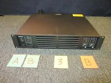 ASHLY 800 POWER AMPLIFIER AMP 120V 2 CHANNEL 420 WATT RACK MOUNT USED NICE B