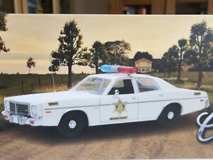 Greenlight 19092 - Dukes of Hazzard - 1975 Dodge Coronet Sheriff Car  1/18 Scale