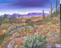 oil paintings original 16 x 20, Arizona, Desert, Landscape
