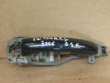 VW TOUAREG MK1 2006 DRIVER SIDE FRONT EXTERIOR DOOR HANDLE P/N: 7L0837886D