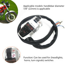 Motorcycle Handlebar Horn Button Turn Signal Fog Light Controller Switch Device