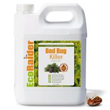 EcoRaider Bed Bug Killer Spray 1 Gallon Jug Green + Non-toxic 100% Kill *New*