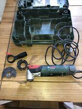 Bosch PMF 250 CES Set tutto più rotondo 3 in 1 Multi Tool 240v buone condizioni