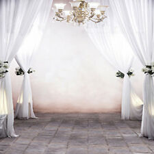10X10FT WHITE Palace Curtains Backdrop vinyl studio Background photo props 15-59