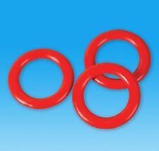 3 PLASTIC RINGS Carnival Soda Bottle Toss Cane Rack Game #AA51 Free shipping