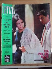 LETIZIA Fotoromanzo n°44 1964 Adriana Rame ed. Lancio  [G578]