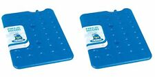 2 x  Ice Pack Block 200g For Cool Bag Freeze Board Chill Box Cooler Thermos