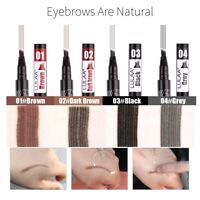 Tattoo Brow Microblade Pen Four Eyebrow Tattoo Pen Waterproof Fork Tip Sketch*1