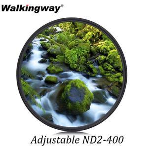 Slim Adjustable ND2-400 Neutral Density filter for 49/52/55/58/62/67/72/77/82mm