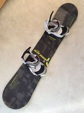 Lib Tech Skate Banana BTX 156W Snowboard, Burton Exile Bindings In Top Condition