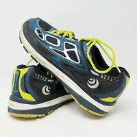 Topo XEL Athletic Magnifly Blue Trainers Lime Trail Running Shoes Mens Size 10