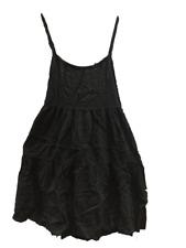 NEW Xhilaration Girls Crossback Nightgown Pajamas Black, Large