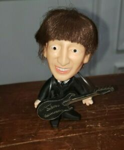 Vintage 1964 John Lennon Hard Body doll, Great Condition, With guitar