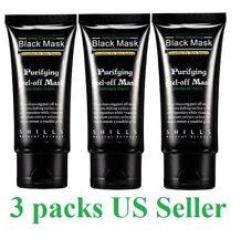 3x Shills Peel off face Masks Deep Blackhead Acne Cleansing Black MASK 50ML