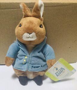 "Peter Rabbit,Kids Preferred;Beatrix Potter Bean Bag Plush Toy;8""-2010 NWT"