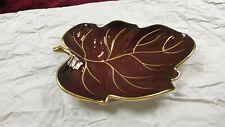 Vintage Carlton Ware Rouge Royale Leaf Dish Bowl Plate