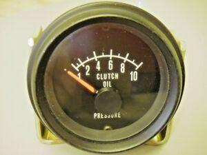 Mack Truck 1MT242 Clutch Oil Pressure Gauge
