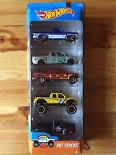 Mattel Hot Wheels Hot Trucks 5er Pack Geschenkset 1:64