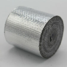 Self Adhesive Reflective Heat Shield 25mm x10m Tape Wrapping Wrap 1200°F
