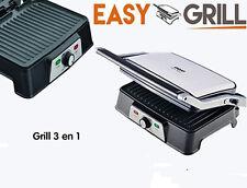 Plancha de asar easy grill  Sandwichera Panini tostadora antiadherente 1500w