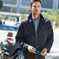 XXXL XXL L M Threads Mens Harrington Jacket Coat Mod Tartan Check  S XL