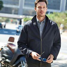 Samuel Windsor Mens Harrington Jacket Lightweight Coat Summer Wear Sizes S-XXXL