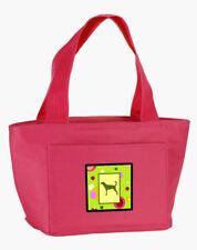 Carolines Treasures Ck1051Pk-8808 Lime Green Dots Plott Hound Lunch Bag