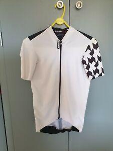 Assos Equipe RS Aero Jersey. White/Black. M. Pristine. RRP £145 👌👌👌