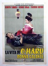 poster 2sh-THE LIFE OF OHARU-TOSHIRO MIFUNE-MIZOGUCHI-ORIENT-C74-3