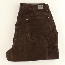 The North Face Men Brown Corduroy Carpenter Hiking Pants Size 34